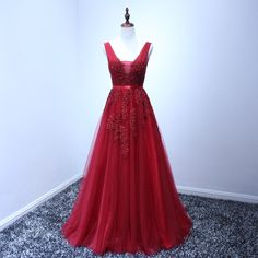Red prom dress evening gown red maxi dress by DesignsbySabi on Etsy https://www.etsy.com/uk/listing/285749741/red-prom-dress-evening-gown-red-maxi
