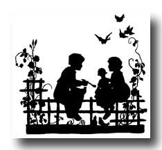 Free Silhouettes --- blogger has scanned images from old books...lots of public domain clip art, too