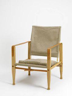 The Safari Chair, designed by Kaare Klint