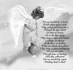 We are Touched By Angels poem