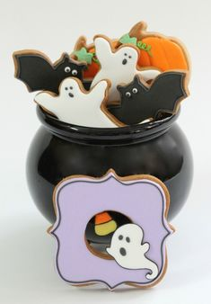Top 18 Cute Halloween Cookie Designs – Cheap Easy & Unique Party Holiday Project - Homemade Ideas (18)