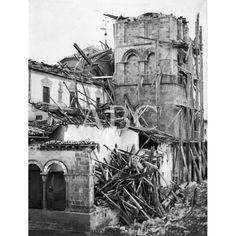 Caida de la Torre de San Esteban hacia 1896