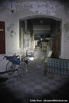 Creedmoor State Hospital, Queens, NY. Opened in 1912.