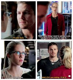 Arrow - Oliver and Felicity #2.9 #3.9 #Olicity <3