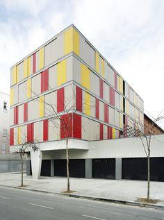 Conjunto habitacional em Granollers,© José Hevia