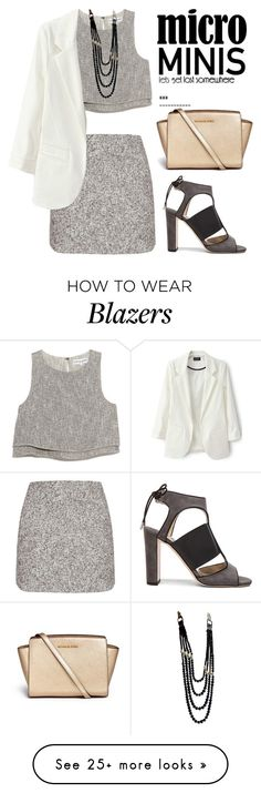 """""""OTD125:..Mini"""" by bugatti-veyron on Polyvore featuring Topshop, Jimmy Choo, Apiece Apart, Michael Kors and Chanel"""