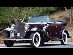 1932 Cadillac V-16 All-Weather Phaeton by Fisher - YouTube