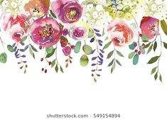 Find Pastel Colors Watercolour Floral Drop Isolated stock images in HD and millions of other royalty-free stock photos, illustrations and vectors in the Shutterstock collection. Watercolor Images, Watercolor Flowers, Watercolour, Baby Shower Background, Babys Breath Flowers, Colorful Quilts, Flower Images, Cute Illustration, Pastel Colors