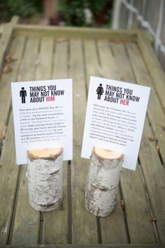 fun facts to put on display on the welcome table or as part of the centerpieces #Centerpieces #WeddingDecor #Wedding