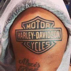 cool Top 100 harley davidson tattoos - http://4develop.com.ua/top-100-harley-davidson-tattoos/ Check more at http://4develop.com.ua/top-100-harley-davidson-tattoos/