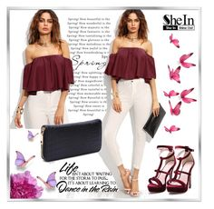 """shein 7"" by woman-1979 ❤ liked on Polyvore featuring WALL and WithChic"