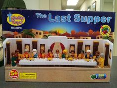 Amazon.com: The Last Supper Construction Block Set: Toys & Games  compatible with LEGO!!