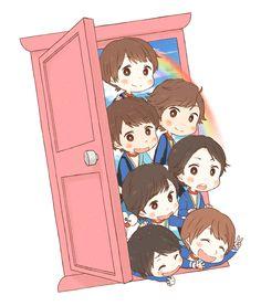 Kis-My-Ft2 光のシグナル Kiss Me, Fangirl, Family Guy, Kawaii, Anime, Fictional Characters, Illustrations, Sexy, Kawaii Cute