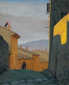 Felix Vallotton - Une rue à Cagnes Pierre Bonnard, Unknown Pleasures, Toulouse, Van Gogh, Impressionism, Painting & Drawing, Landscape Paintings, Modern Art, Gustav Klimt