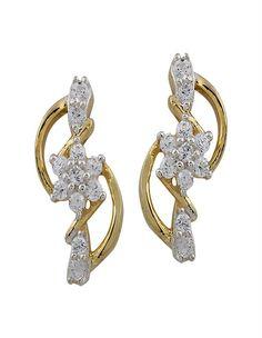 Fancy Diamond Earring on www.diamonds4you.com