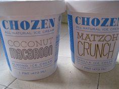 Ice cream branding based on Jewish recipe flavors