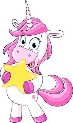 Unicornio con estrella