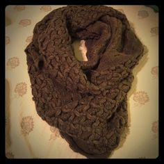 Olive colored infinity scarf New without tags. Olive colored infinity scarf. This is so soft and warm!  Accessories Scarves & Wraps