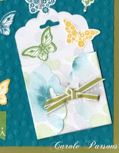 Magnolia's Place: Scalloped Tag Topper Punch - Envys