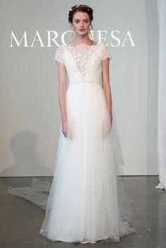 Bridal Week 2014 : la robe de mariée du défilé Marchesa
