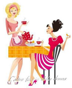 Where my tea time gals at? Chocolate Caliente, Hot Chocolate, Coffee Girl, Hot Coffee, Coffee Break, Coffee Shop, Tea Art, Fun Cup, Best Tea