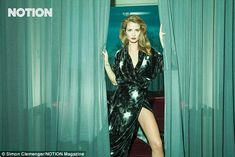 Millie Mackintosh wears Ong-Oaj Pairam couture gown in Notion Magazine feature