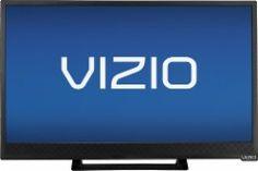 """VIZIO - E-Series - 24"""" Class (23-5/8"""" Diag.) - LED - 1080p - Smart - HDTV - Black - E241I-B1 - Best Buy"""