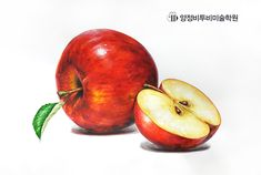Fruits Drawing, Plant Drawing, Food Drawing, Painting & Drawing, Watercolor Paintings For Beginners, Watercolor Fruit, Middle School Art, Small Paintings, Fruit Art