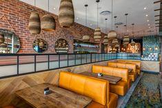 Doppio Zero restaurant design by Design Partnership. Environmental Design, Interior Photography, Hospitality Design, Mauritius, Design Agency, Restaurant Design, Contemporary Design, South Africa, Architecture Design