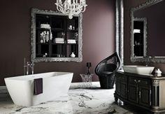 Gothic bathroom decor bathroom decor bedroom goth home decor home decor modern gothic themed bathroom decor Gothic Bathroom Decor, Goth Home Decor, Steampunk Bathroom, Gothic Bedroom, Bathroom Interior, Living Room Small, Gothic Interior, Interior Modern, Modern Gothic