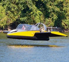 Water-land hover craft! (I'm still waiting on my Back to the Future hover board though!)