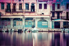 Rethymnon Harbour Buildings, Rethimno, Crete, Greece by Joe Daniel Price on Crete Island, Abandoned Buildings, Greece Travel, Crete Greece, Competition, Mansions, Architecture, House Styles, Places