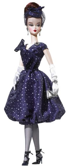 Parisienne Pretty (2009) Silkstone Barbie - Lovely dress and even lovelier shoes!