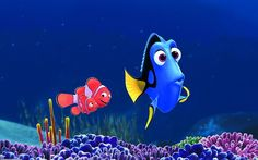 Finding Nemo Wall Mural Make your own wallpaper any size http://www.wallpaperink.co.uk/categories/disney-wallpaper