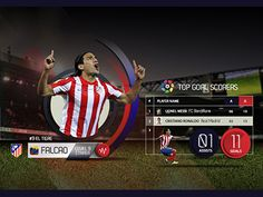 Falcao WIP STATS designed by JC Mora. Football Apps, Interactive Infographic, Sport Inspiration, Sports Graphics, Information Graphics, Sports Betting, Soccer Training, World Of Sports, Game Ui