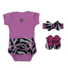 Baby Bella Maya Zoe Zebra Baby Gift Set $42.99