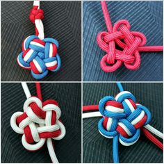 3 color star knot