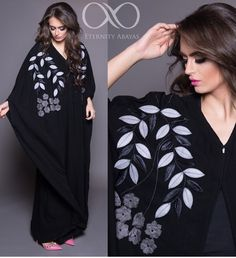 Abaya Niqab Fashion, Modest Fashion, Pakistani Fashion 2017, Estilo Abaya, Abaya Pattern, Modern Abaya, Black Abaya, Muslim Women Fashion, Arabic Dress