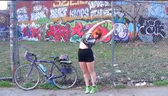 Redhead on a Bicycle