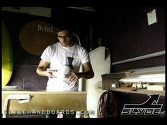 Donny Brink master shaper and Slyde Handboards design concepts