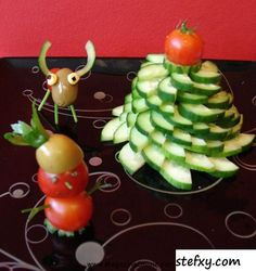 Interesting And Creative Food Decoration Ideas