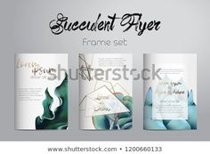 Find Succulent Flyer Collection stock images in HD and millions of other royalty-free stock photos, illustrations and vectors in the Shutterstock collection. Thousands of new, high-quality pictures added every day. Succulents, Royalty Free Stock Photos, Place Card Holders, Frame, Illustration, Pictures, Collection, Art, Picture Frame