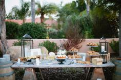 Cookie Desert Bar. French Country Wedding. Cravory Cookies