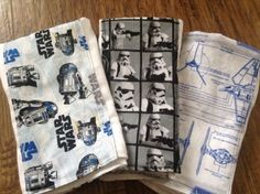 Hey, I found this really awesome Etsy listing at https://www.etsy.com/listing/220686441/star-wars-baby-burp-cloth-set-premuim