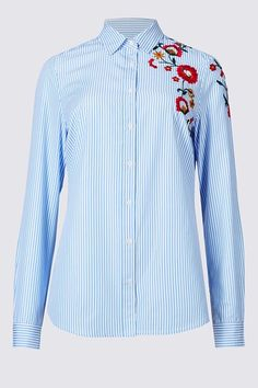 Embroidered shirts: the best on the high street - Tatler
