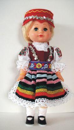 Panenky - 30 cm - mrkací | Ždiar - 30cm - SLOVENSKO | Krojované panenky