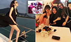 Rich Kids of China flaunt their bling and private jet trips online | Daily Mail Online