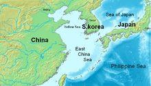 O Mar da China Oriental é um dos principais mares do mundo, localiza-se na Ásia e tem uma área de 1 249 000 km². É considerado um mar periférico do Oceano Pacífico.1 Referências
