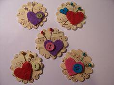 More of my handmade embellishments Handmade Scrapbook, Scrapbook Cards, Candy Cards, Scrapbook Embellishments, Button Crafts, Handmade Flowers, Handmade Ideas, Card Tags, Creative Gifts