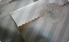Make these cute paper bags from a sheet of paper and some glue!